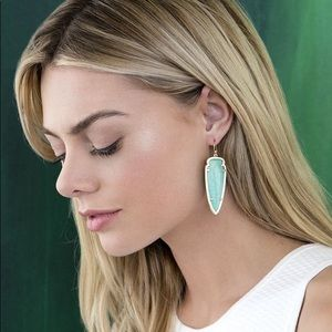 Skylar Earrings in Amazonite